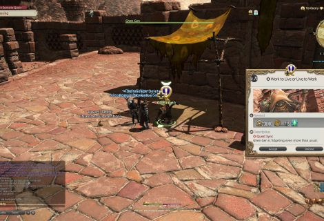 FFXIV Shadowbringers Guide - Aether Currents Location
