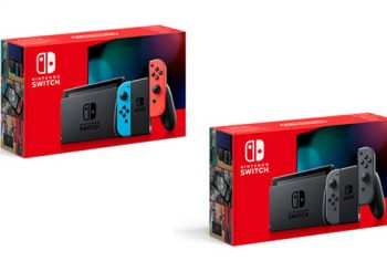 Original Nintendo Switch with Improved Battery Life announced
