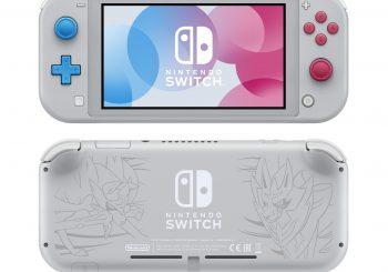 Nintendo Switch Lite 'Zacian and Zamazenta Edition' announced