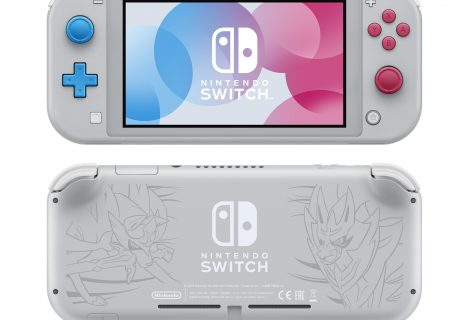 Nintendo Switch Lite 'Zacian and Zamazenta Edition' announced