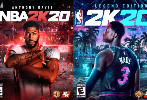 Anthony Davis And Dwyane Wade Are The NBA 2K20 Cover Athletes