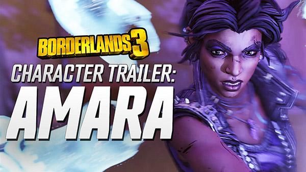 Borderlands 3 'Amara' Character Trailer released