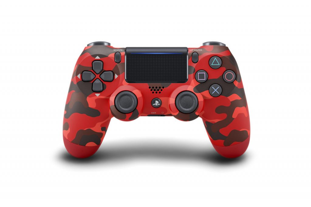 Dualshock 4 Controller - Red Camoflauge
