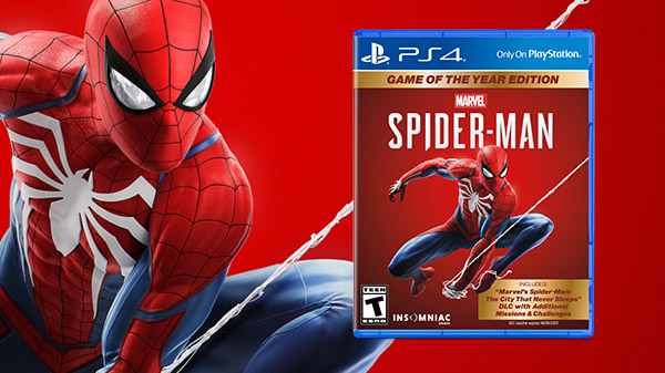 Marvel's Spider-Man: Game of the Year Edition launches today for PS4