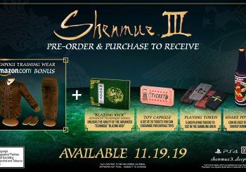 Shenmue III Pre-Order Bonuses detailed