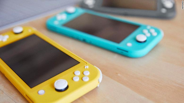 Games that aren't playable on Switch Lite