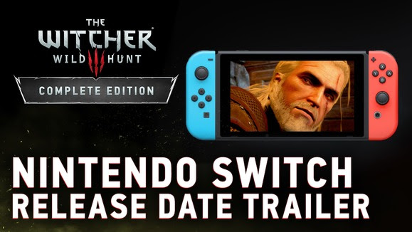 The Witcher 3 for Switch gets a release date