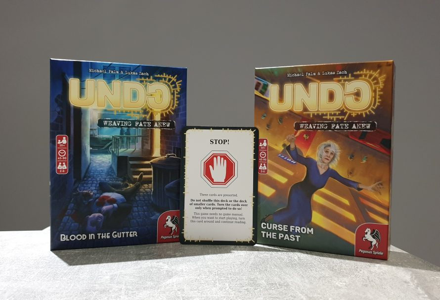 Undo: Curse from the Past & Undo: Blood in the Gutter Review – More Lives To Save