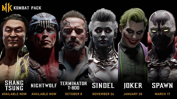 Mortal Kombat 11 Kombat Pack Fully Revealed; Rumors Suggest Ash was Removed