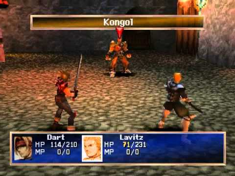 PlayStation Games - Legend of Dragoon