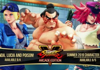 Street Fighter V: Arcade Edition's Next Fighters Include E. Honda, Poison and Lucia