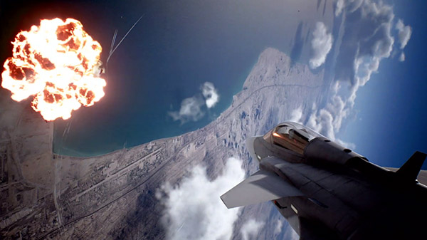Ace Combat 7 – 'Unexpected Visitor' DLC trailer released