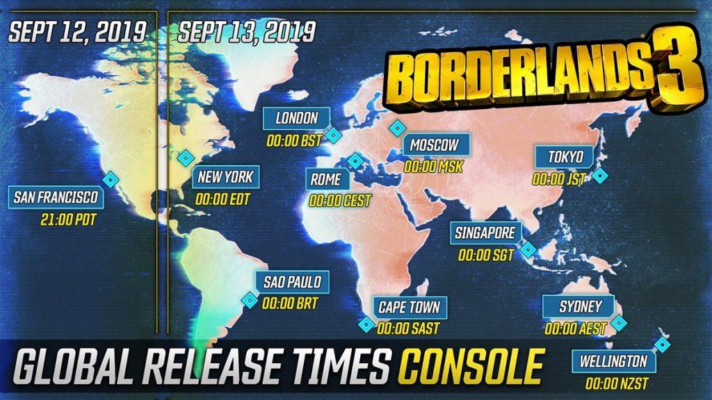 Borderlands 3 Global Release