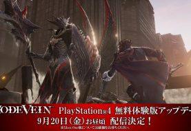 Code Vein PS4 demo getting an update tomorrow, September 20