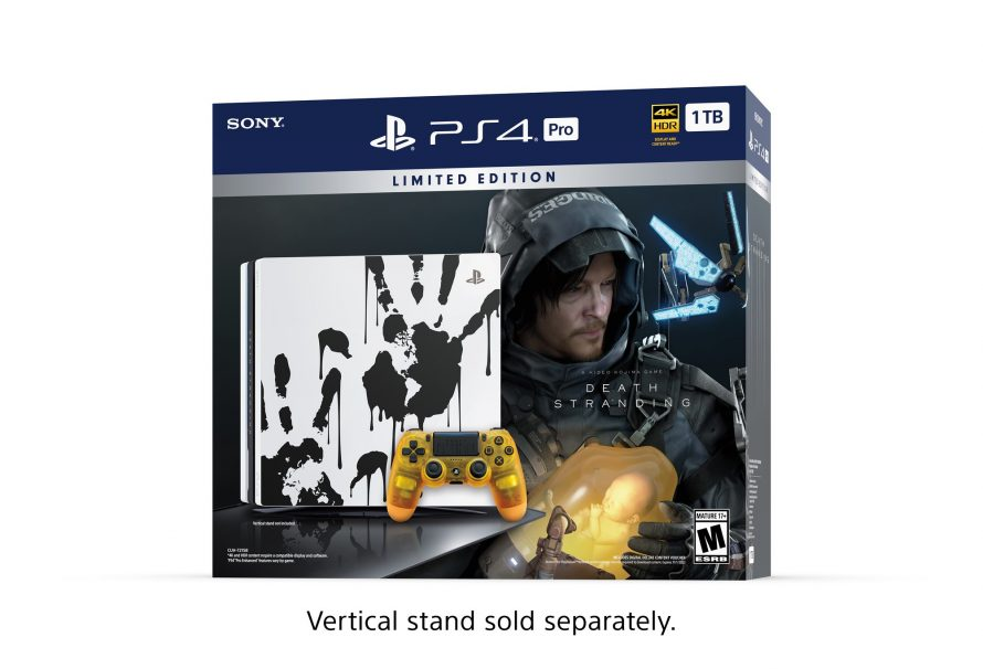 Death Stranding PS4 Pro Limited Edition announced
