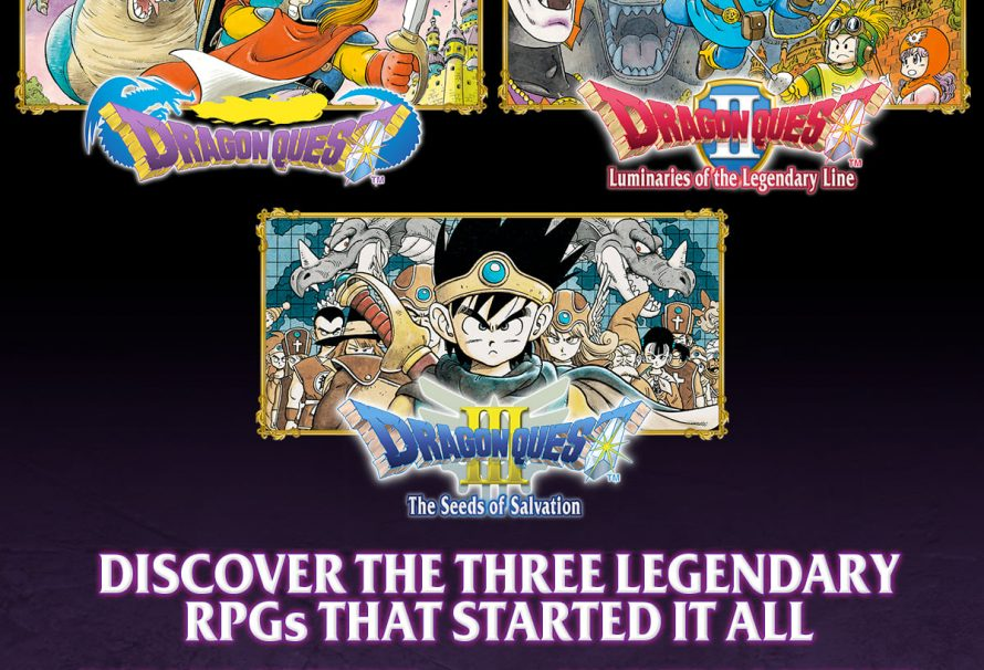 Dragon Quest I-III coming to Switch in North America and Europe this month