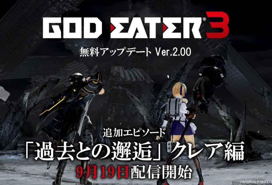 God Eater 3 version 2.0 launches September 19