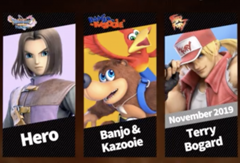 Banjo-Kazooie Joins Super Smash Bros. Ultimate Today; Terry Bogard Confirmed as the Next Fighter