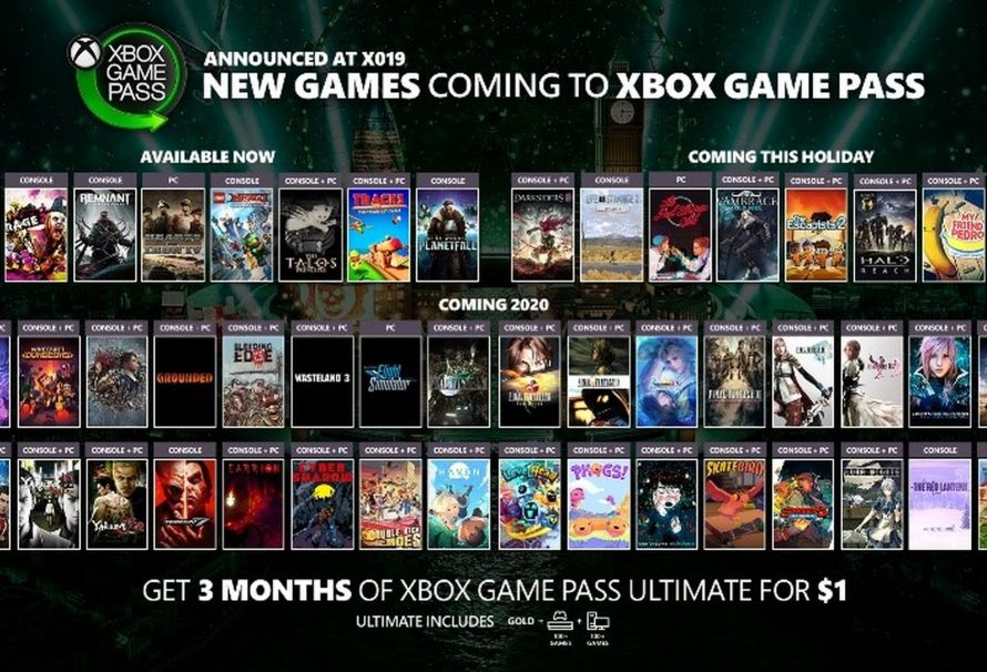 Xbox Game Pass Gets a Bunch of New Games; Even More Revealed for the Future
