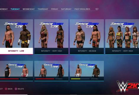 Universe Mode Details In WWE 2K20