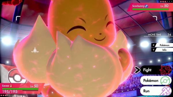 Pokemon Sword Shield Gigantamax - Eevee