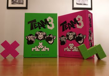 TEAM3 PINK & GREEN Review