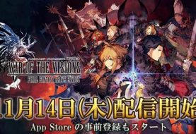 War of the Visions: Final Fantasy Brave Exvius coming November 14 in Japan