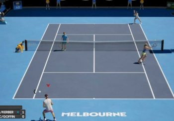 AO Tennis 2 Serving Out In 2020