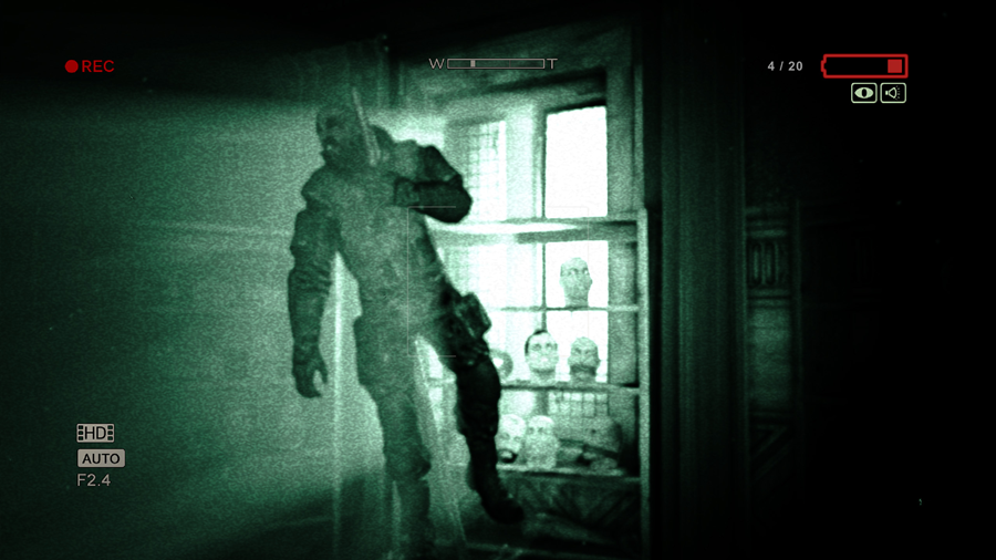 Halloween Games - Outlast 1 and 2