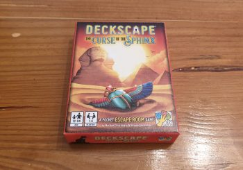 Deckscape: The Curse of the Sphinx Review