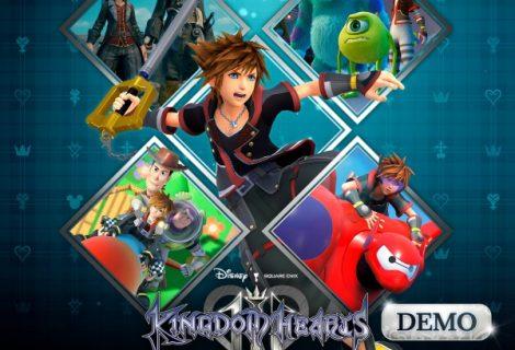 Kingdom Hearts 3 demo now live