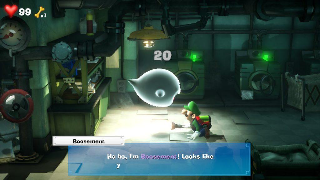 Luigi's Mansion 3 Boos Location - Damage