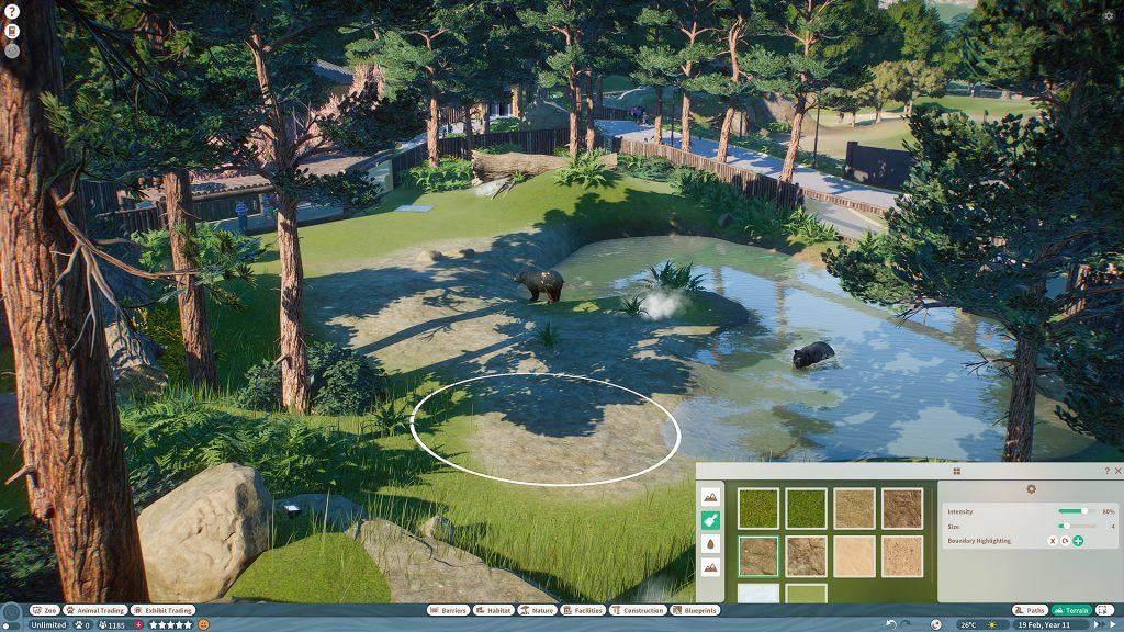 planet zoo screen