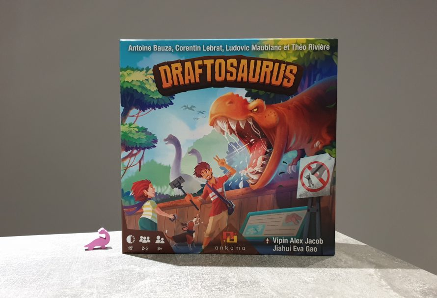 Draftosaurus Review – Draft Those Dinos