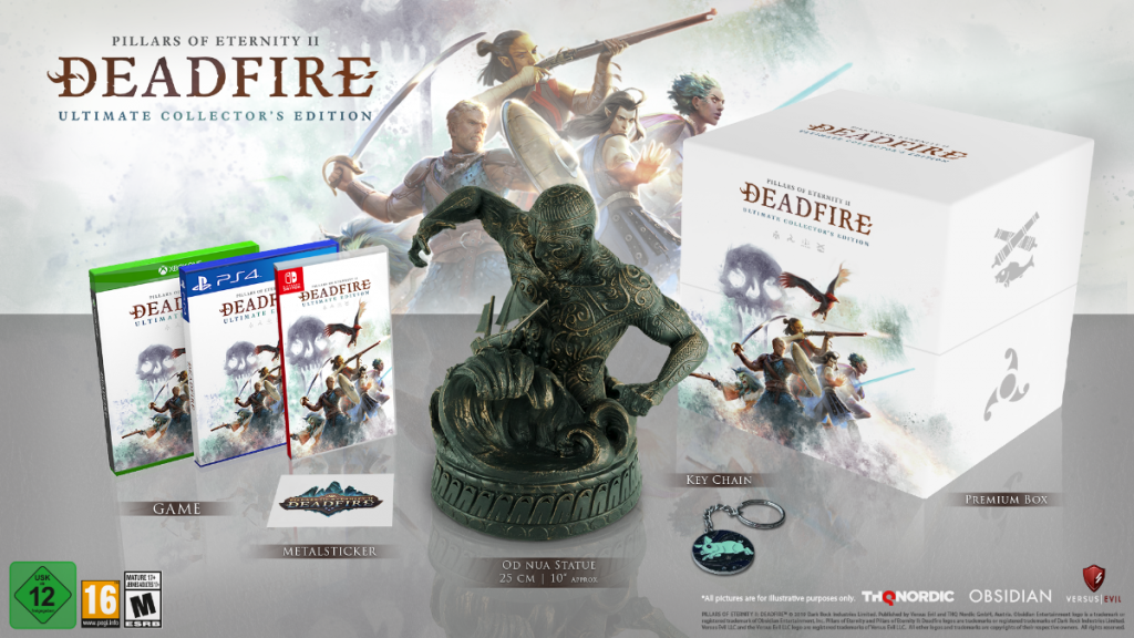 Pillars of Eternity II Deadfire Consoles - Collector's Edition