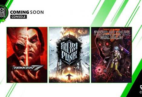 Xbox Game Pass getting Frost Punk, Sword Art Online: Fatal Bullet and Tekken 7 this January