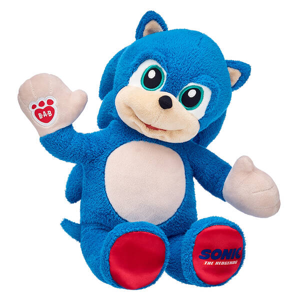 Build A Bear Workshop Announces Sonic The Hedgehog Movie Stuffed Animal Just Push Start