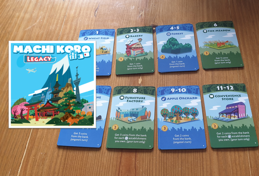 Machi Koro Legacy Review – A Campaign Of Dice