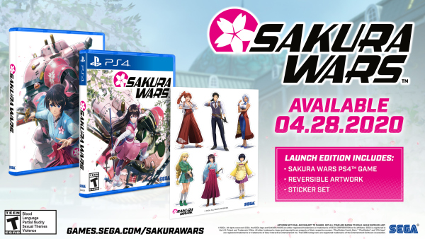 Sakura Wars launches April 28 for PS4 in North America