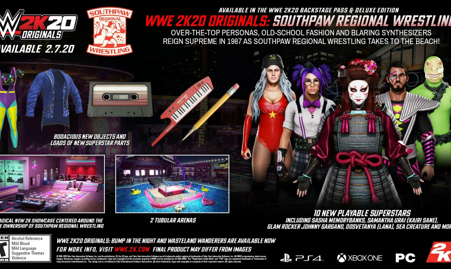 WWE 2K20 1.07 Update Patch Notes Slam Out