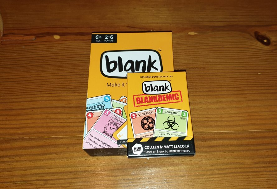 Blank: Blankdemic Review – A Leacock Expansion
