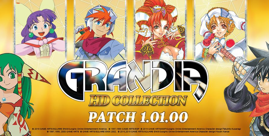 Grandia HD Collection Remaster getting a new update today