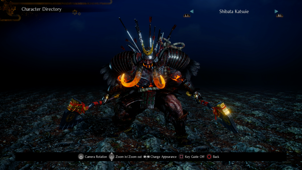 Nioh 2 scary monster