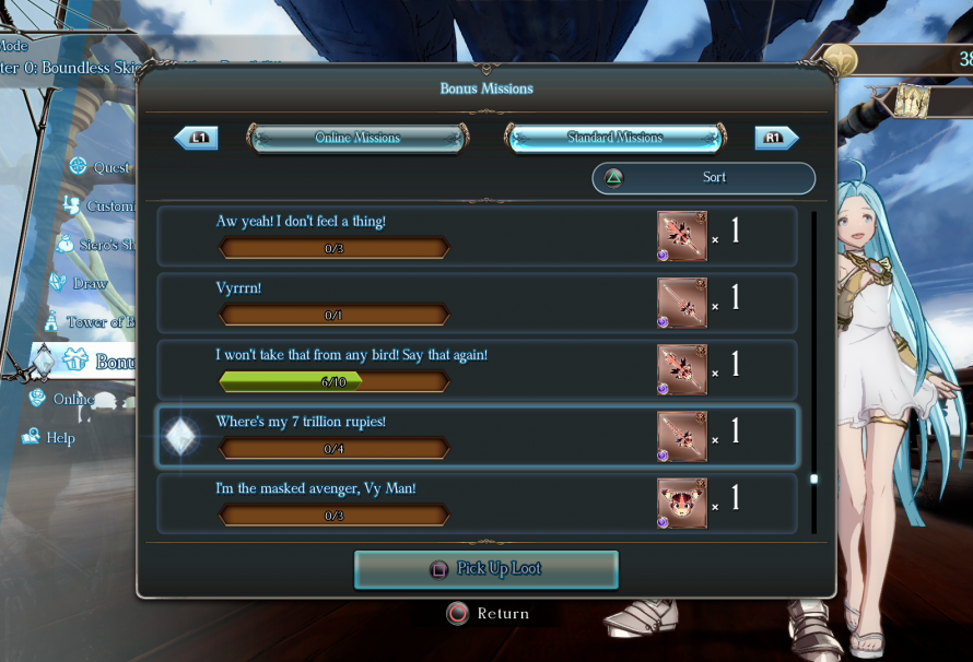 Granblue Fantasy: Versus – How to Unlock Color Variations and Weapon Skins