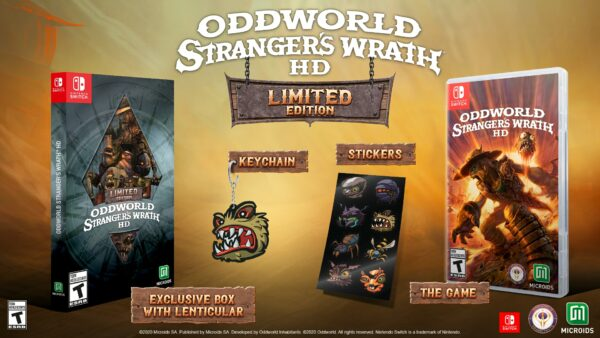 Oddworld: Stranger's Wrath HD for Switch getting physical edition on May 26