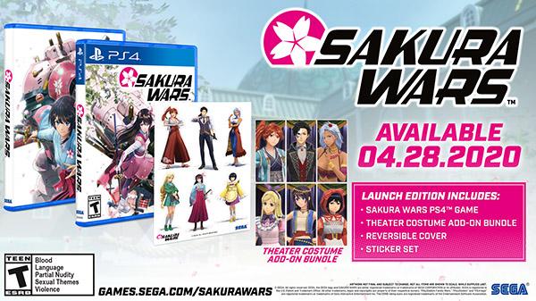 Sakura Wars Launch - 01