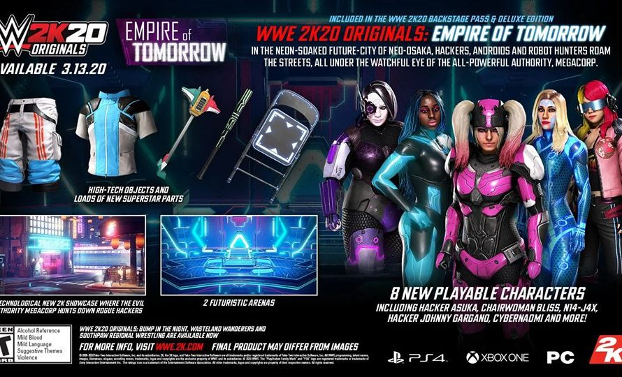 WWE 2K20 1.08 Update Patch Notes Revealed