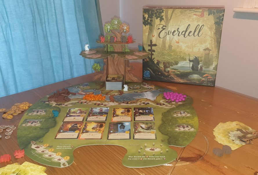 Everdell Review – Critters & Constructions