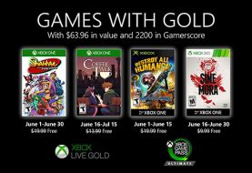 Xbox Live Games with Gold for June 2020 revealed