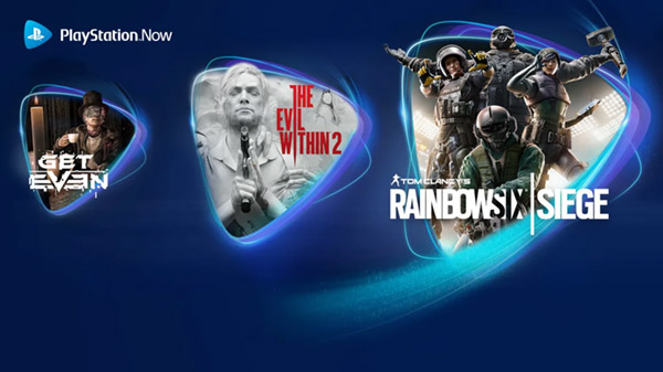 PlayStation Now adds The Evil Within 2, Rainbow Six Siege, and Get Even